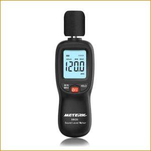 Décibelmètre Sonomètre Meterk Digital MK09