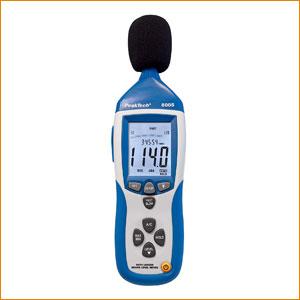 Décibelmètre Sonomètre Peaktech 8005