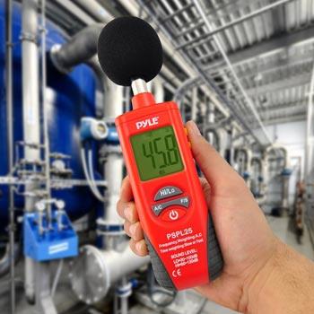 Décibelmètre sonomètre Pyle PSPL25